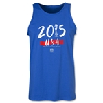 USA FIFA Women's World Cup Champions Tank Top (Royal)