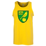 Norwich City Core Tank Top (Yellow)