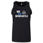 Newcastle United We Are Newcastle Tank Top (Black)