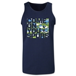 Tottenham Come On You Spurs Men's Tank Top (Navy)