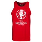UEFA Euro 2016 Core Tank Top (Red)