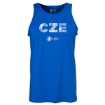 Czech Republic Euro 2016 Elements Tank Top (Royal)