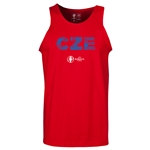 Czech Republic Euro 2016 Elements Tank Top (Red)