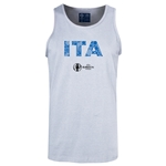 Italy Euro 2016 Elements Tank Top (Ash)