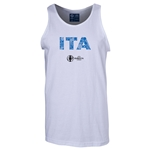 Italy Euro 2016 Elements Tank Top (White)