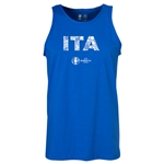 Italy Euro 2016 Elements Tank Top (Royal)