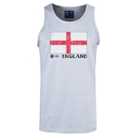 England Euro 2016 Fashion Tank Top (Ash)