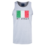 Italy Euro 2016 Fashion Tank Top (Ash)