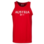 Austria Euro 2016 Core Tank Top (Red)