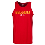 Belgium Euro 2016 Core Tank Top (Red)