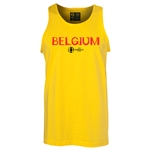 Belgium Euro 2016 Core Tank Top (Yellow)