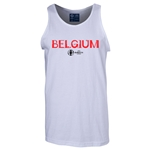 Belgium Euro 2016 Core Tank Top (White)