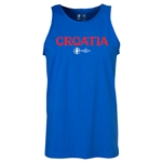 Croatia Euro 2016 Core Tank Top (Royal)