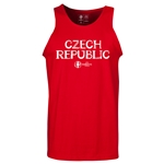 Czech Republic Euro 2016 Core Tank Top (Red)