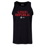 Czech Republic Euro 2016 Core Tank Top (Black)