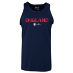 England Euro 2016 Core Tank Top (Navy)
