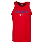 France Euro 2016 Core Tank Top (Red)
