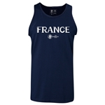 France Euro 2016 Core Tank Top (Navy)