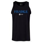 France Euro 2016 Core Tank Top (Black)