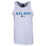 Iceland Euro 2016 Core Tank Top (White)