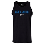 Iceland Euro 2016 Core Tank Top (Black)