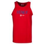 Italy Euro 2016 Core Tank Top (Red)