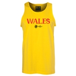 Wales Euro 2016 Core Tank Top (Yellow)