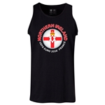 Northern Ireland Euro 2016 Fashion Tank Top (Black)