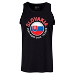 Slovakia Euro 2016 Fashion Tank Top (Black)