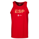 Spain Euro 2016 Elements Tank Top (Red)