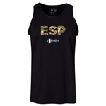 Spain Euro 2016 Elements Tank Top (Black)