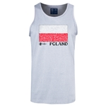 Poland Euro 2016 Fashion Tank Top (Ash)