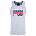 Russia Euro 2016 Fashion Tank Top (Ash)
