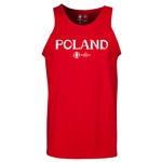 Poland Euro 2016 Core Tank Top (Red)