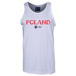 Poland Euro 2016 Core Tank Top (White)