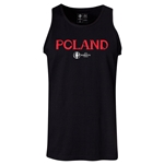 Poland Euro 2016 Core Tank Top (Black)