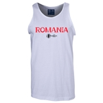 Romania Euro 2016 Core Tank Top (White)
