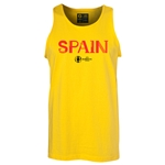 Spain Euro 2016 Core Tank Top (Yellow)