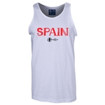 Spain Euro 2016 Core Tank Top (White)