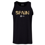 Spain Euro 2016 Core Tank Top (Black)
