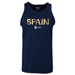 Spain Euro 2016 Core Tank Top (Navy)