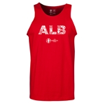 Albania Euro 2016 Elements Tank Top (Red)