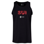 Switzerland Euro 2016 Elements Tank Top (Black)