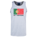 Portugal Euro 2016 Fashion Tank Top (Ash)