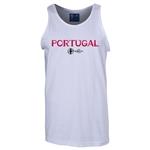 Portugal Euro 2016 Core Tank Top (White)