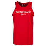 Switzerland Euro 2016 Core Tank Top (Red)