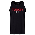 Turkey Euro 2016 Core Tank Top (Black)