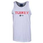 Turkey Euro 2016 Core Tank Top (White)