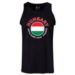 Hungary Euro 2016 Fashion Tank Top (Black)