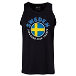Sweden Euro 2016 Fashion Tank Top (Black)